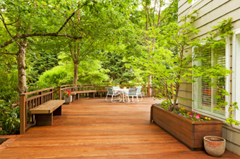 Fijian Mahogany Timber Decking